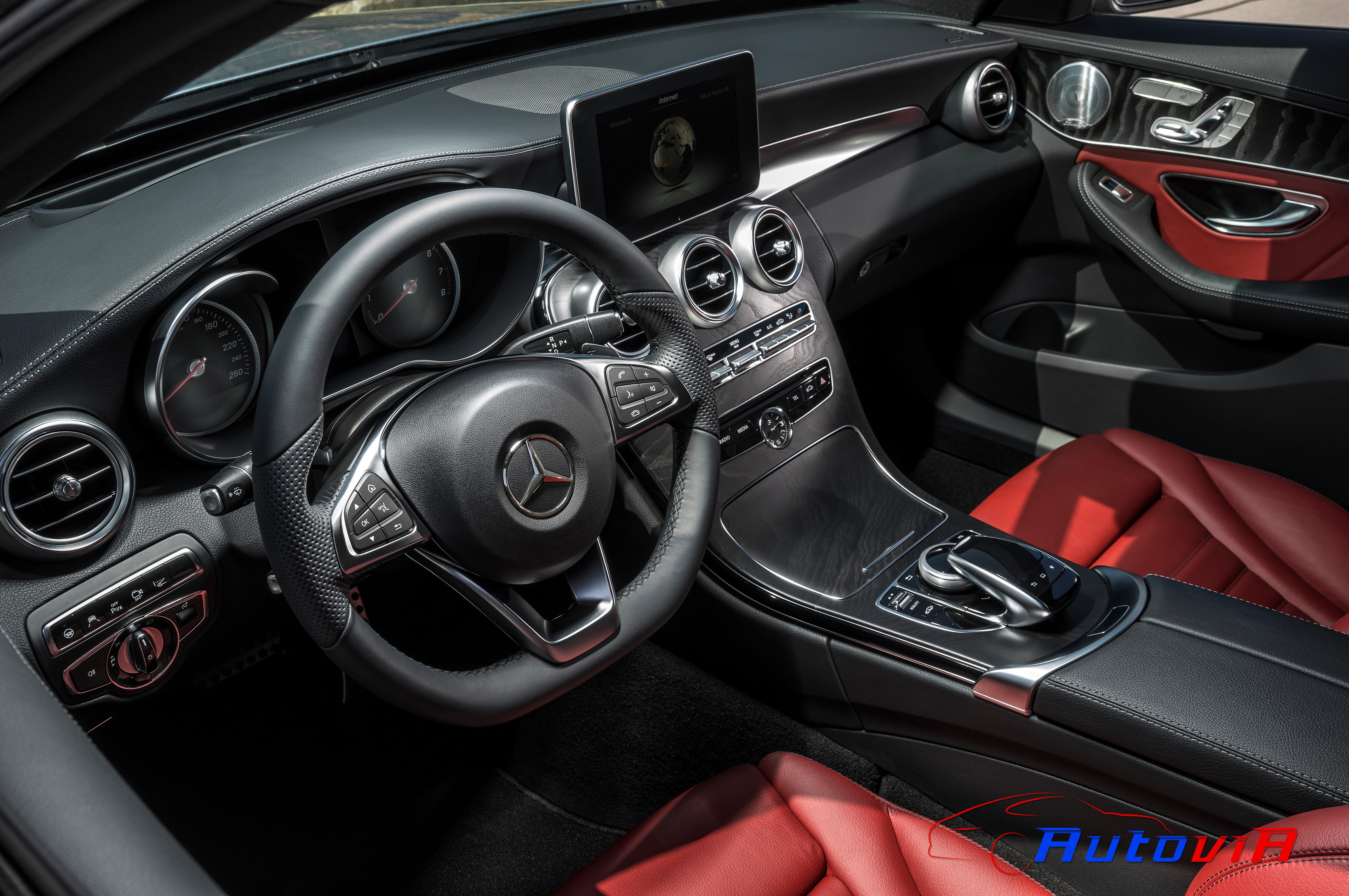 Mercedes benz clase c c 250 amg line 2014 008 for Mercedes benz clase c