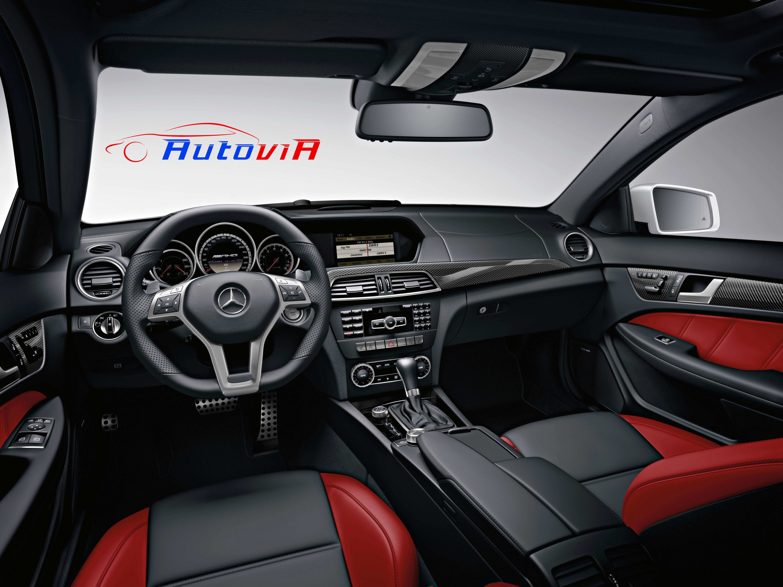 Mercedes benz clase c coup c 63 amg interior 01 for Interior mercedes clase a