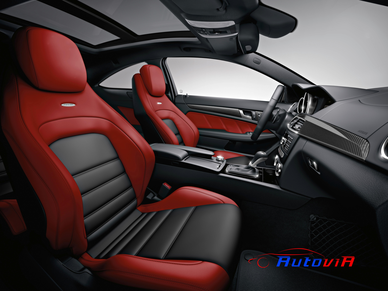 Mercedes benz clase c coup c 63 amg interior 02 for Interior mercedes clase a