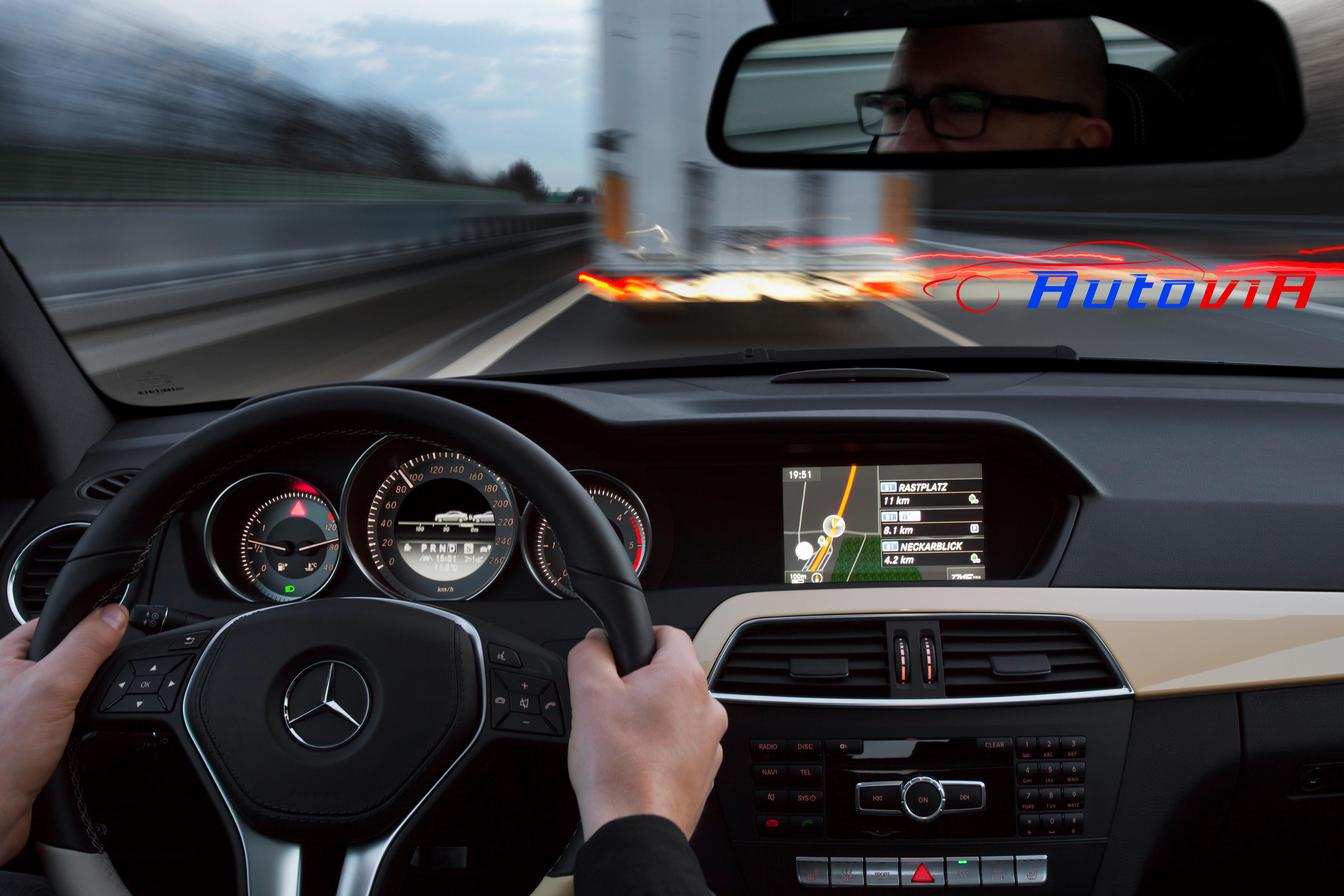 Mercedes benz clase c coup interior 04 for Interior mercedes clase a