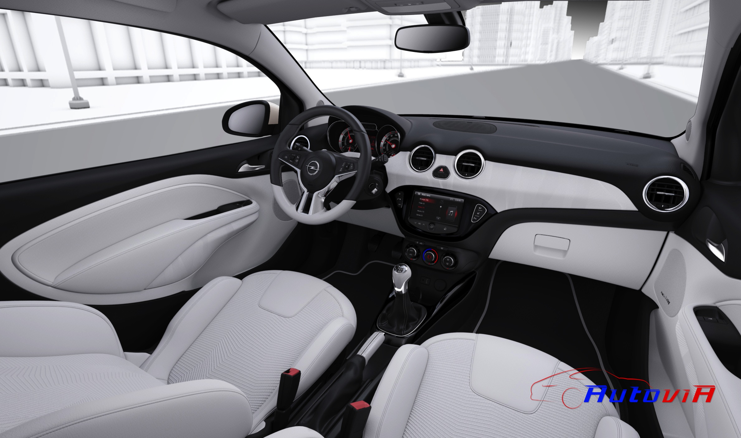 Opel adam 2012 interior 008 for Interieur opel adam