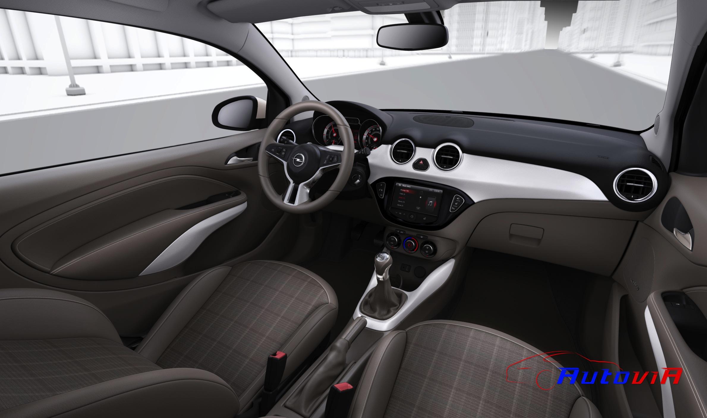 Opel adam 2012 interior 019 for Interior opel adam