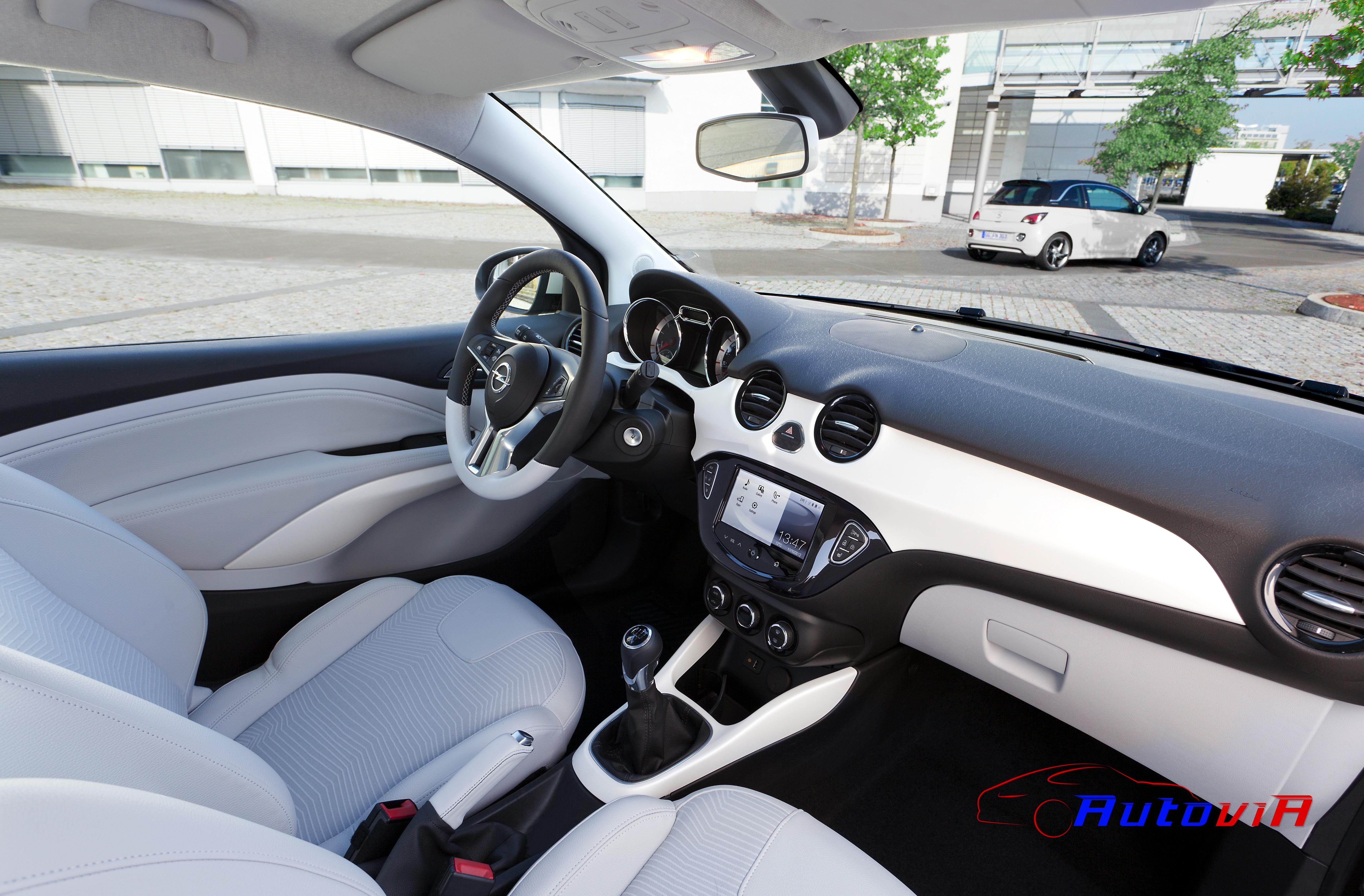 Opel adam 2012 interior 025 for Interior opel adam