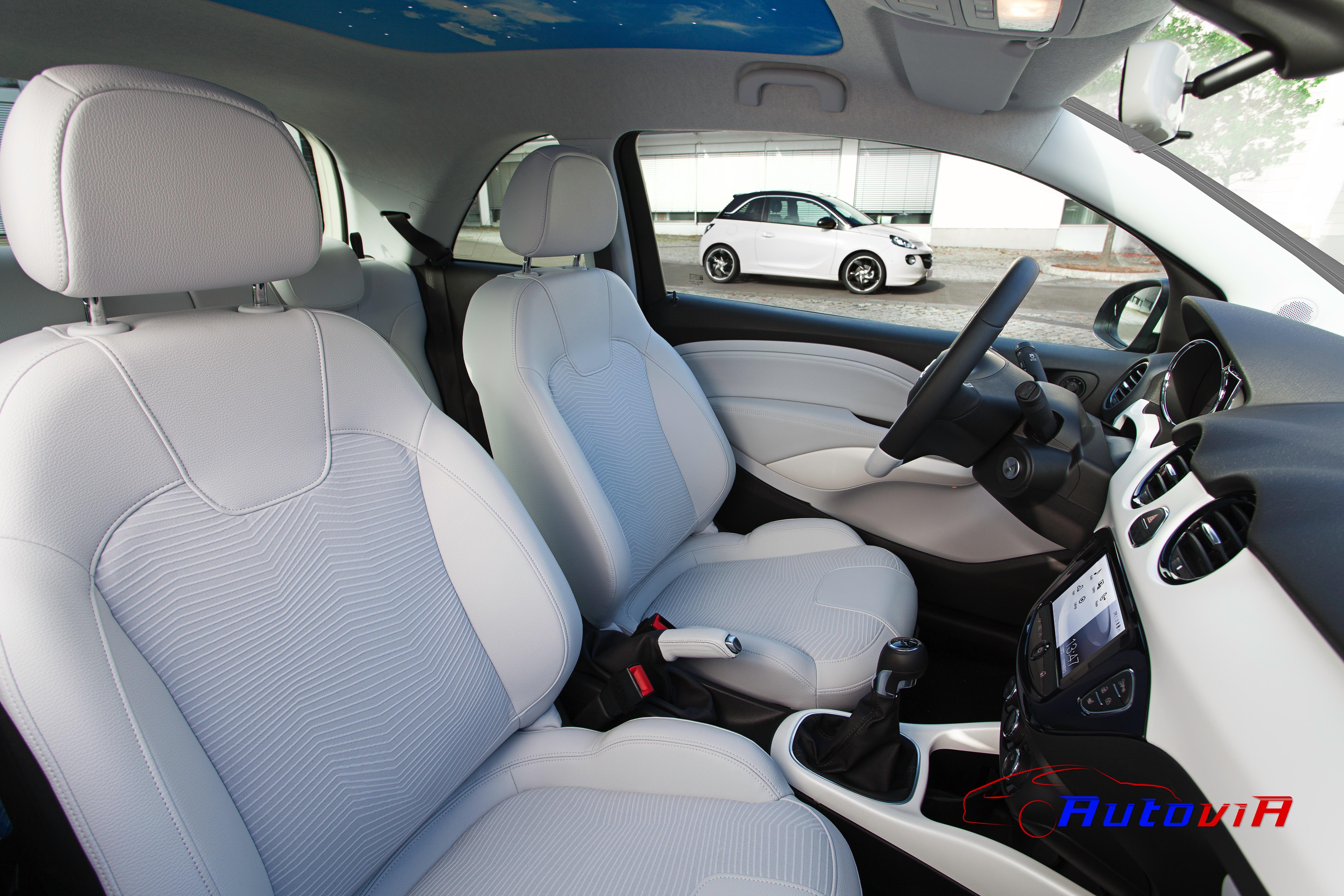 Opel adam 2012 interior 026 for Interior opel adam