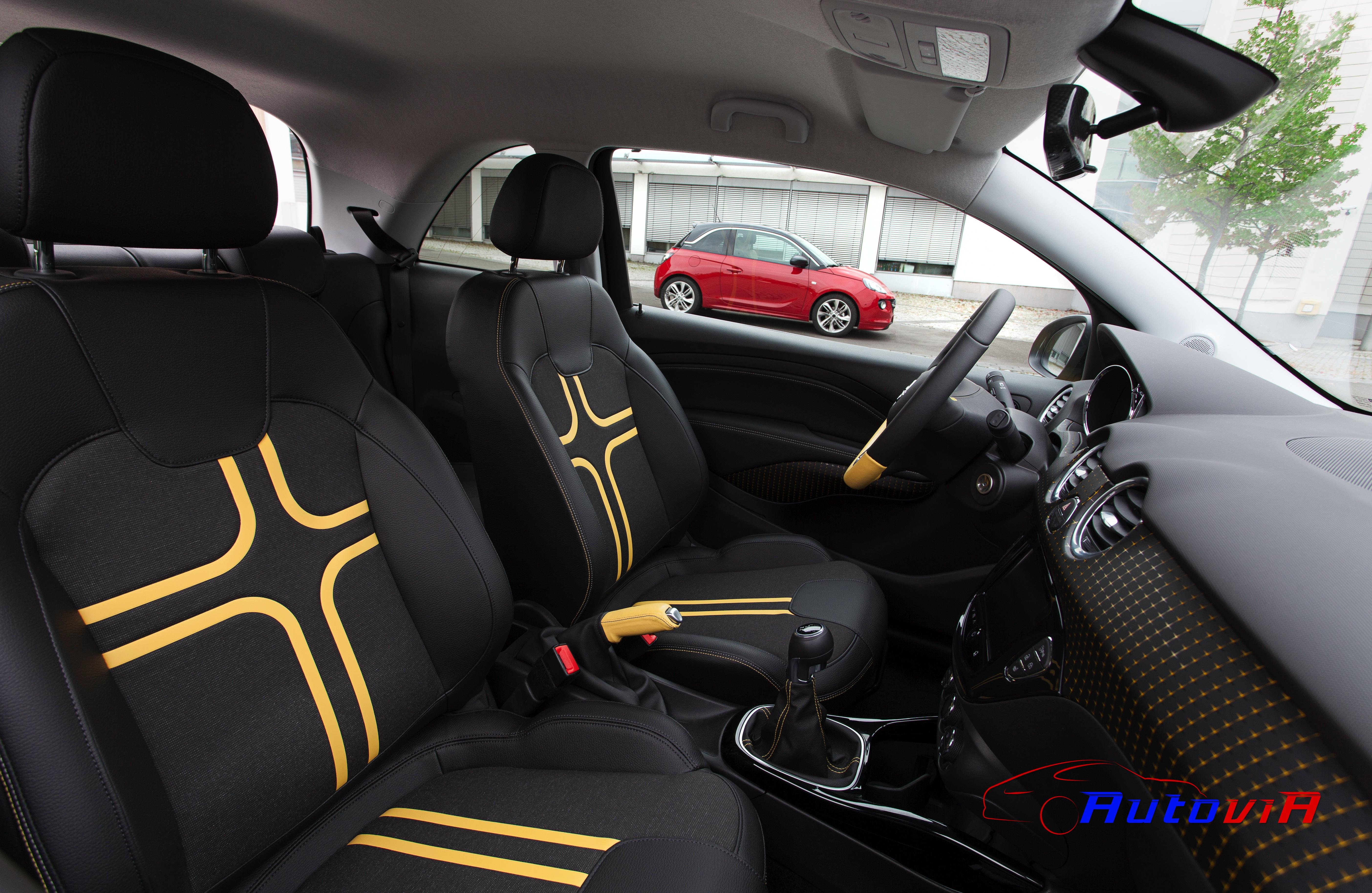 Opel adam 2012 interior 028 for Interior opel adam