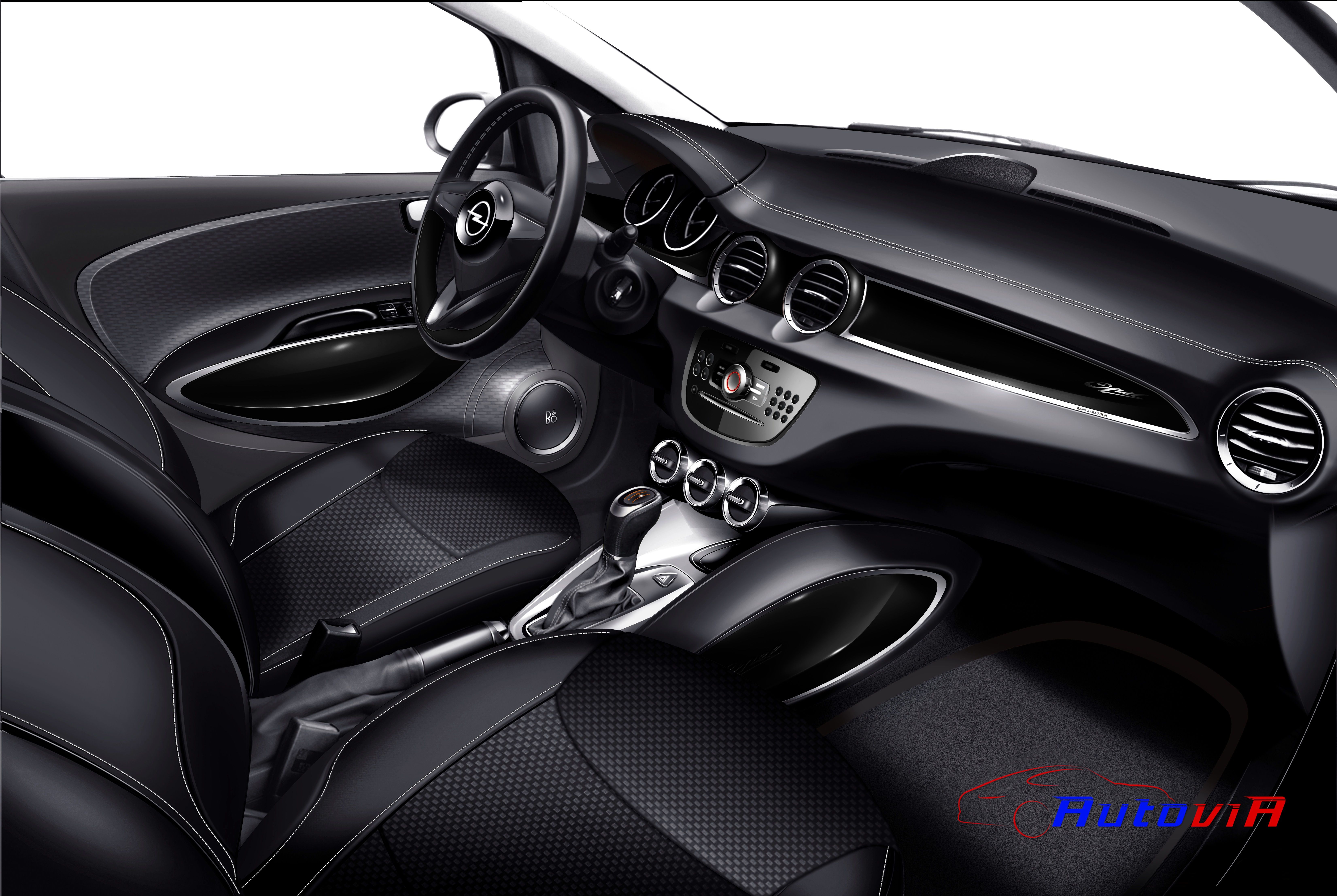 Opel adam 2012 interior 033 for Interieur opel adam