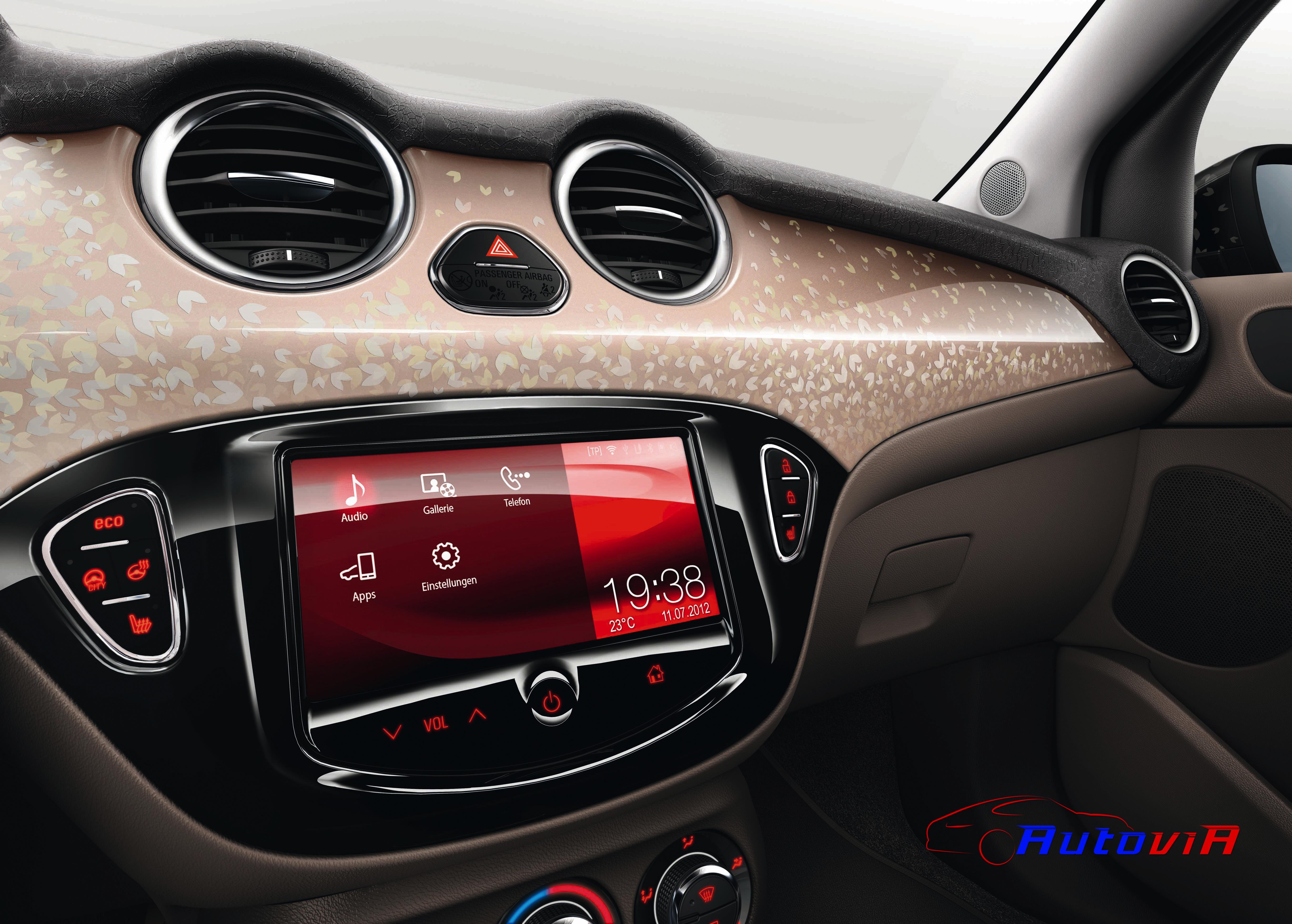 Opel adam 2012 interior 038 for Interior opel adam