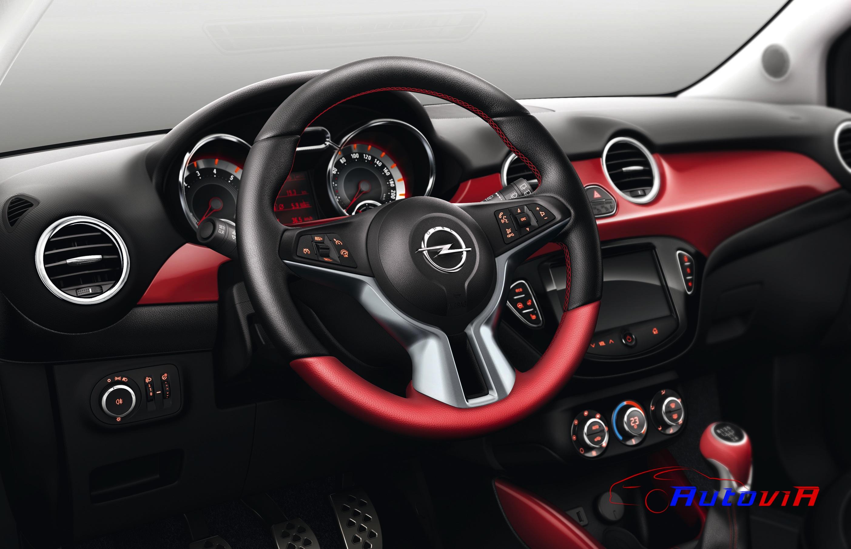 Opel adam 2012 interior 039 for Interior opel adam