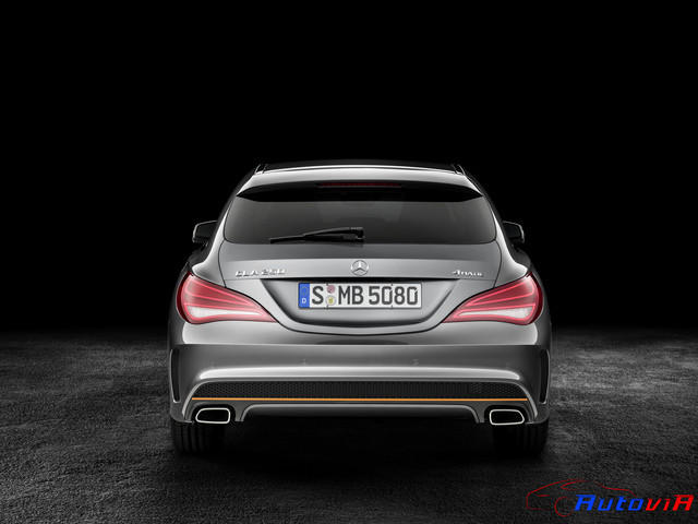 Mercedes-Benz CLA 250 4MATIC Shooting Brake 2014 OrangeArt 04