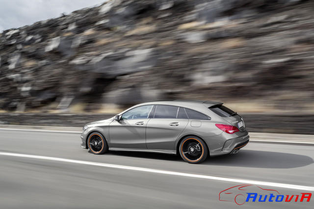 Mercedes-Benz CLA 250 4MATIC Shooting Brake 2014 OrangeArt 09