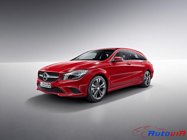 Mercedes-Benz CLA Shooting Brake 2014 02