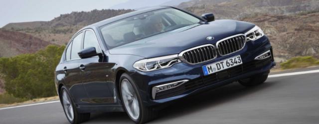 BMW Serie 5 2017, renovación con 100kg menos